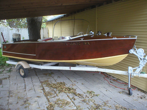 Willis Also Built Pleasure Boats Including This 1958 14 Outboard Runabout The